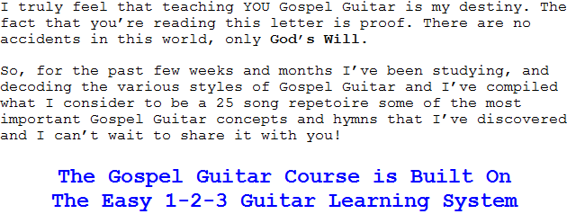 Gospel Guitar, Gospel Guitar Chords, Gospel Guitar Music, Gospel ...
